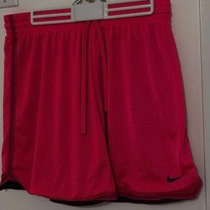Pink Basketball Shorts